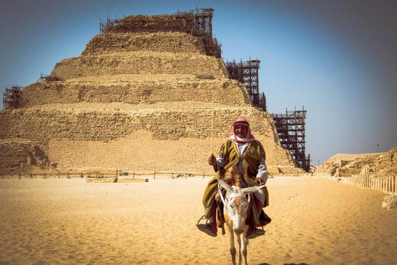 La Piramide a Gradoni di Djoser | Saqqara