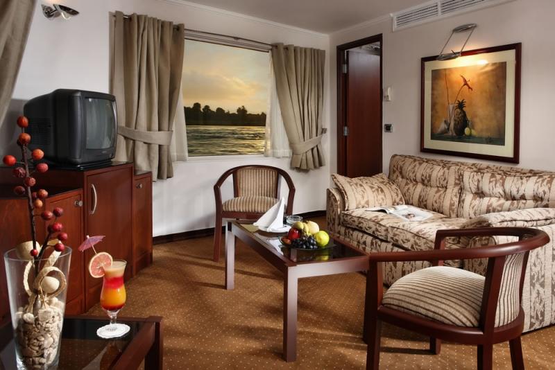 Nile Cruise Suite Lounge