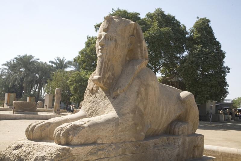 The Sphinx of Memphis