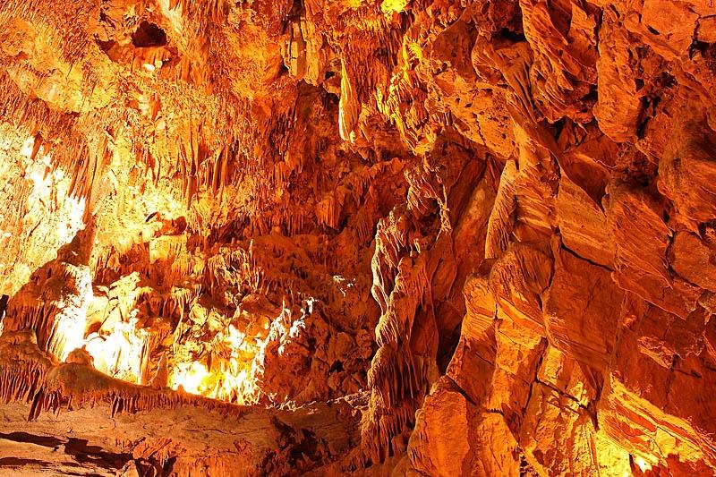 Damlatas Caves in Turkey