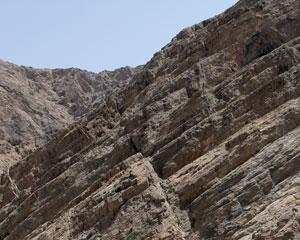 Limestone Fault in Oman