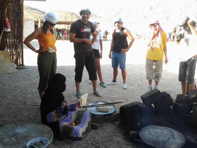 The Bedouin village