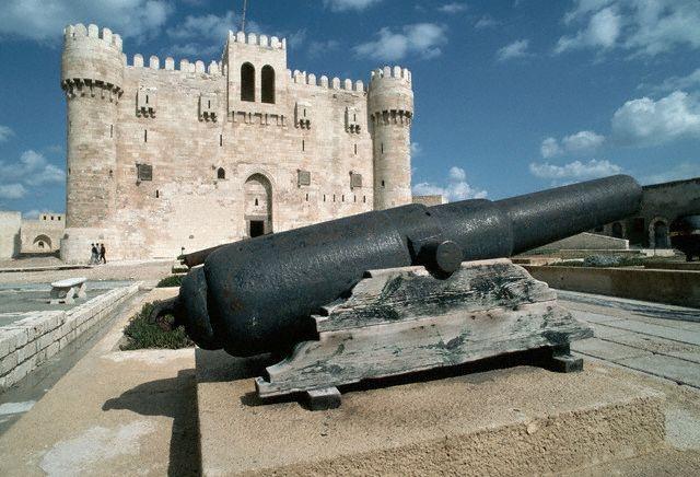 Qaitbey Citadel in Alexandria