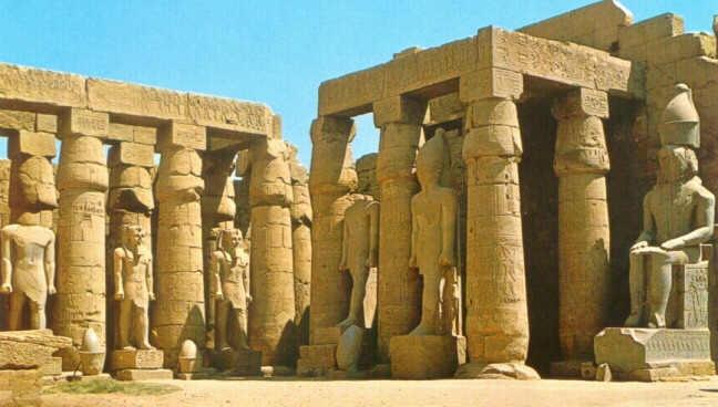 Resultado de imagen de Templo de Luxor