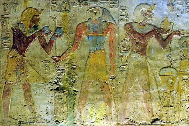 Relief, Temple de Beit el Wali