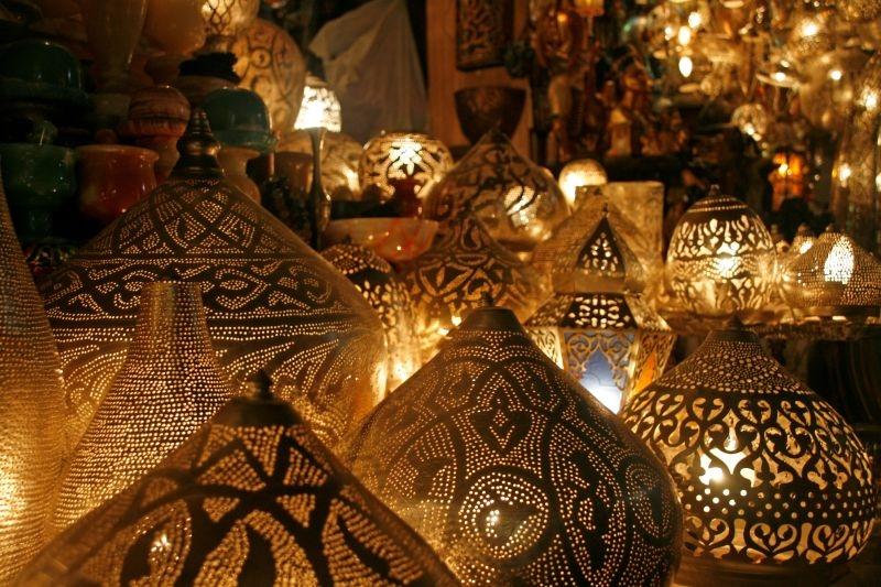Egyptian Souvenirs from Khan El Khalili Bazaar, Old Cairo