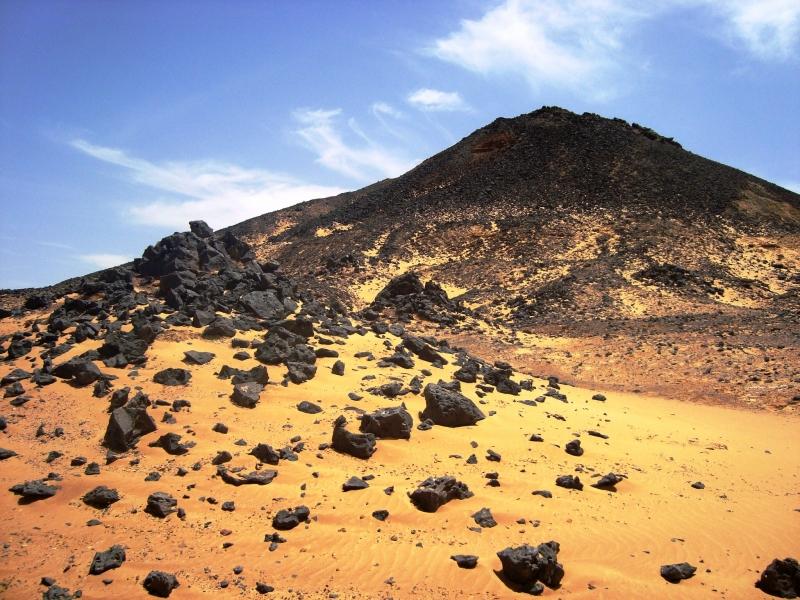 Il Deserto Nero dell'Egitto
