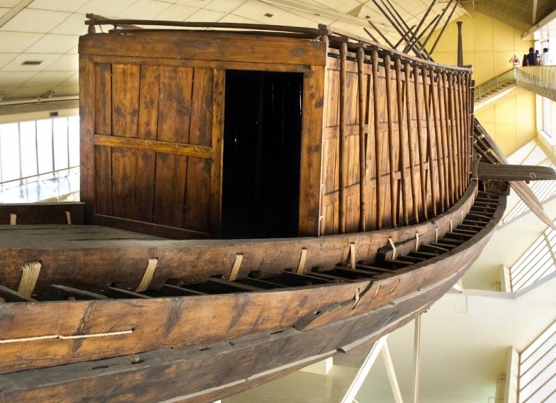 The Solar Boat Museum Egypt