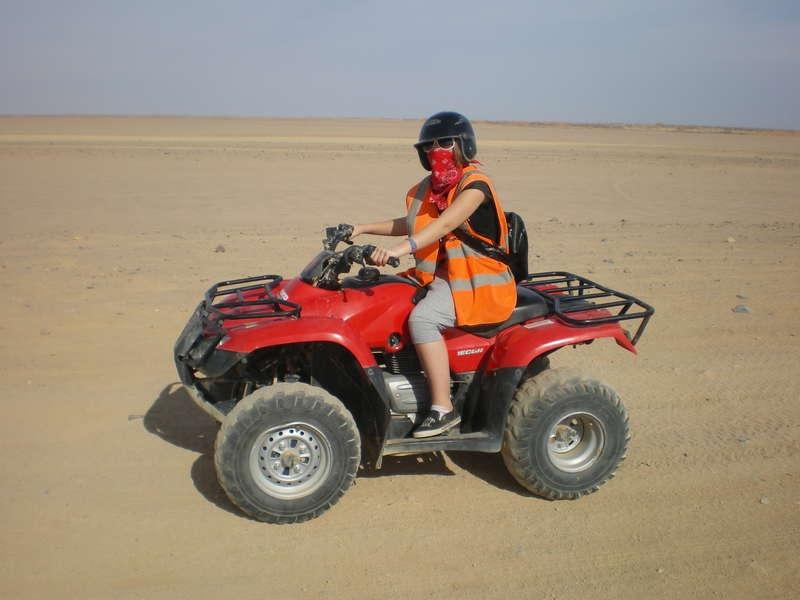 Quad Bike Safari Hurghada