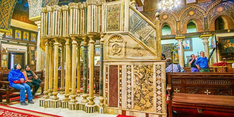 The Hanging Church | Coptic Cairo