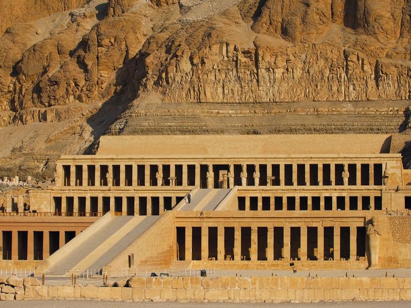 O Templo da rainha Hatshepsut - Luxor