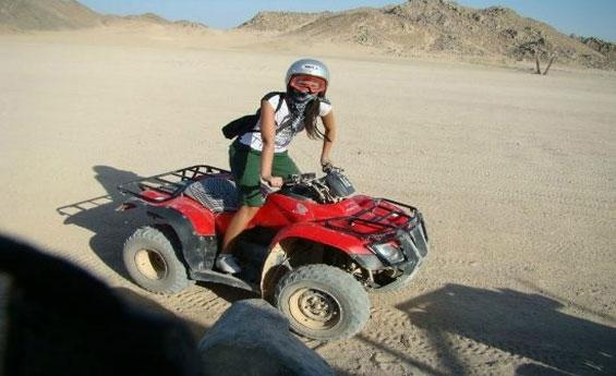 Safari in Hurghada Desert by Quad Bike