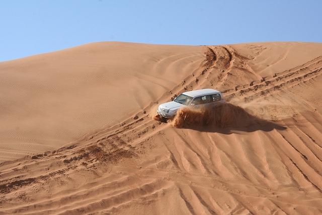 Dune-Bashing in Abu Dhabi