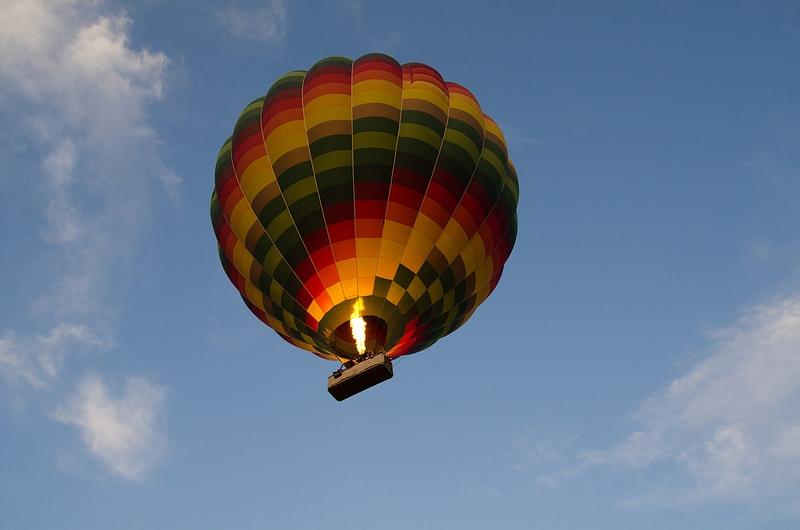 Hot Air Balloon in Luxor