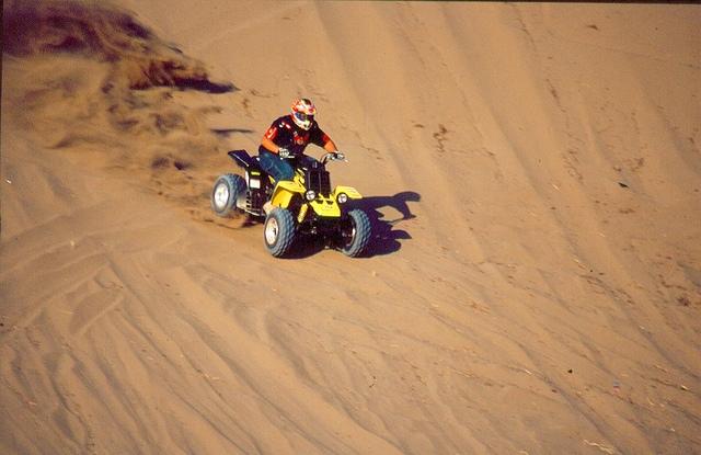 Excursion en quad dans le désert à l'intérieur de Taba