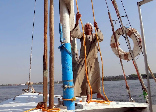 Felucca experience on the Nile