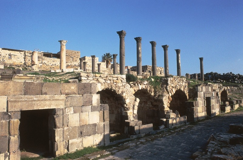 Greaco Roman Ruins of Umm Qais