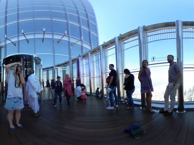 Inside Burj Khalifa