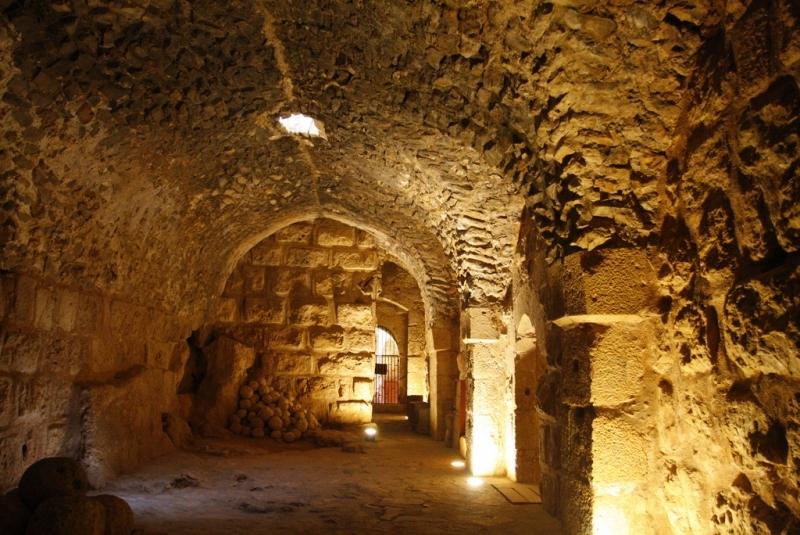 Interno della Fortezza di Ajlun