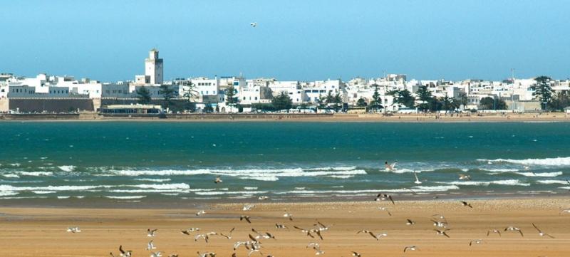 El paisaje en Essaouira