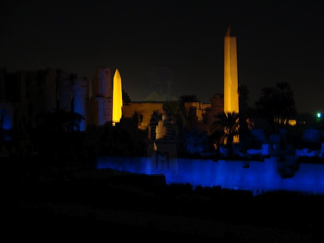 Sound and Light Show, Karnak Temple in Luxor