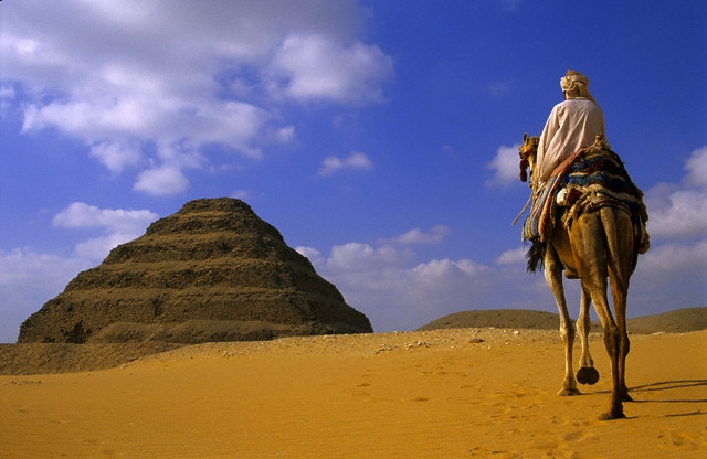 Sakkara Step Pyramid, Cairo