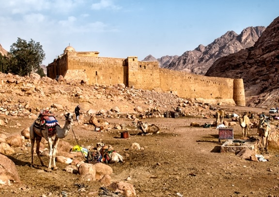St. Catherine's Monastery in Egypt