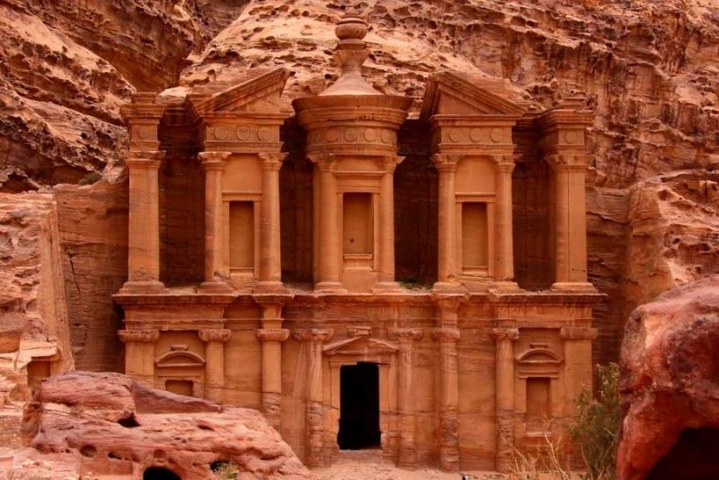 The Monastry of  Petra, Jordan
