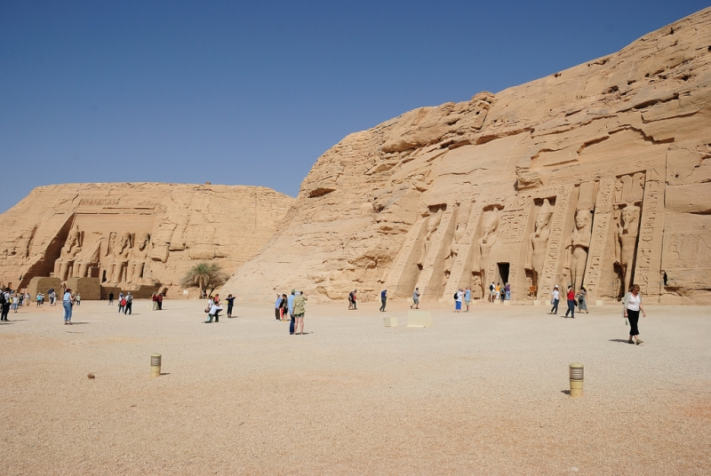 The Beauty of Abu Simbel Temple