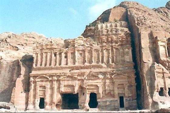 Petra,Jordania