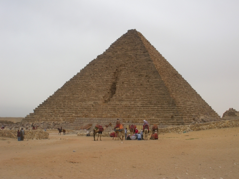Mykerinus (Menkaure) Pyramid at Giza