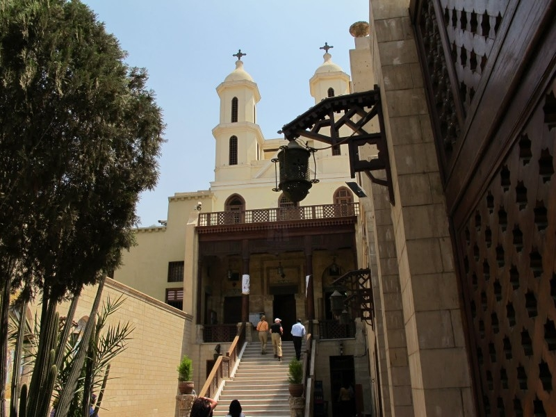 The Hanging Church in Old Cairo