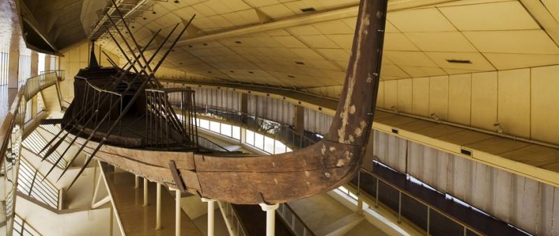 The Solar Boat Museum in Giza