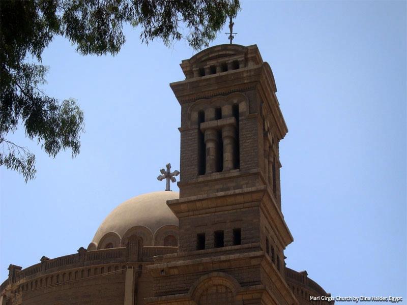 Mari Girgis Church - Coptic Cairo