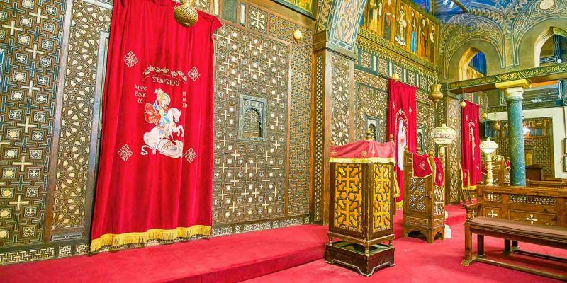 The Hanging Church   Coptic Cairo