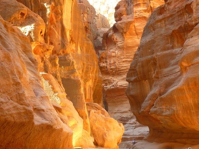 Gola del Siq a Petra