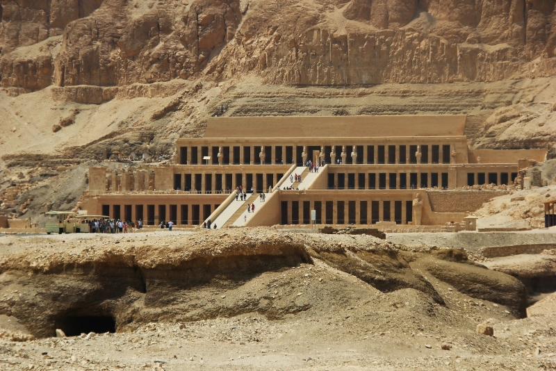 The Mortuary Temple of Queen Hatshepsut at Deir el Bahari, Luxor