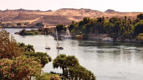 Quiétude sur le Nil, Assouan