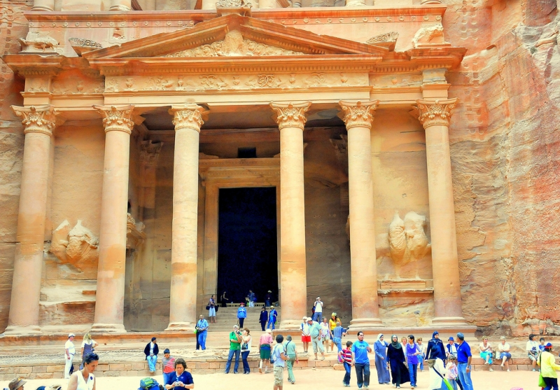Ausflug Petra und Wadi Rum ab Aqaba Hafen