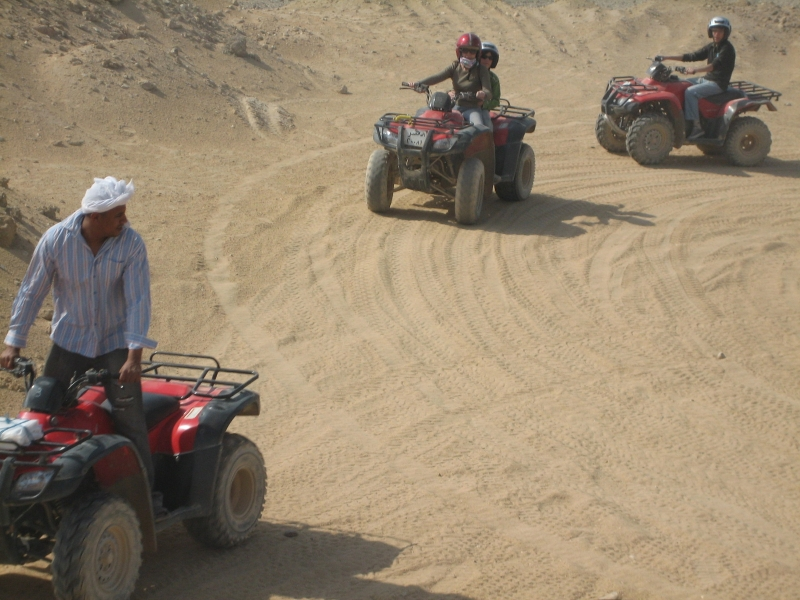 Sunset Quad Bike ATV Safari Tour in Luxor
