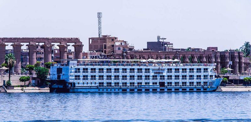 Cruzeiro pelo Rio Nilo Egito