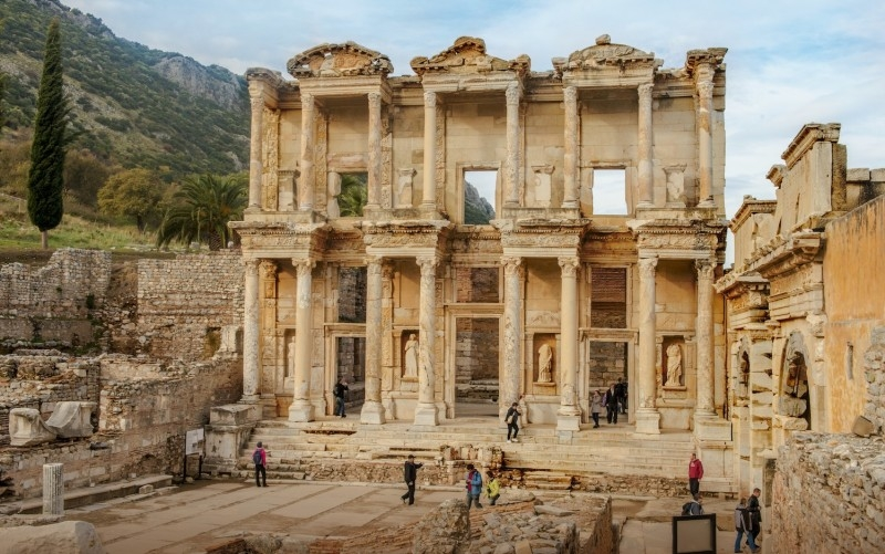The Library of Celsus in Ephesus