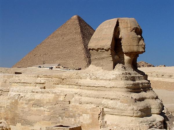 Esfinge - Cairo - Egito