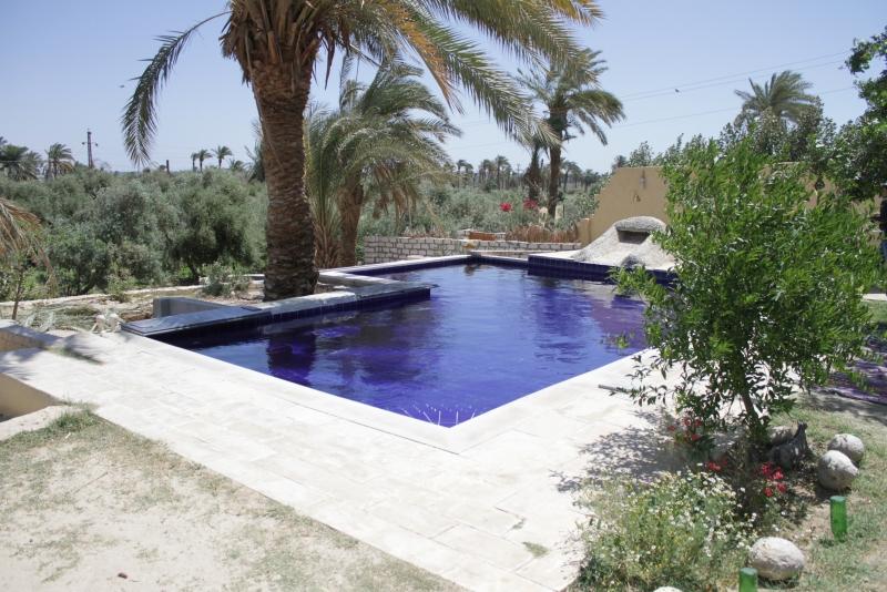 La piscine au Tunis Village au Fayoum