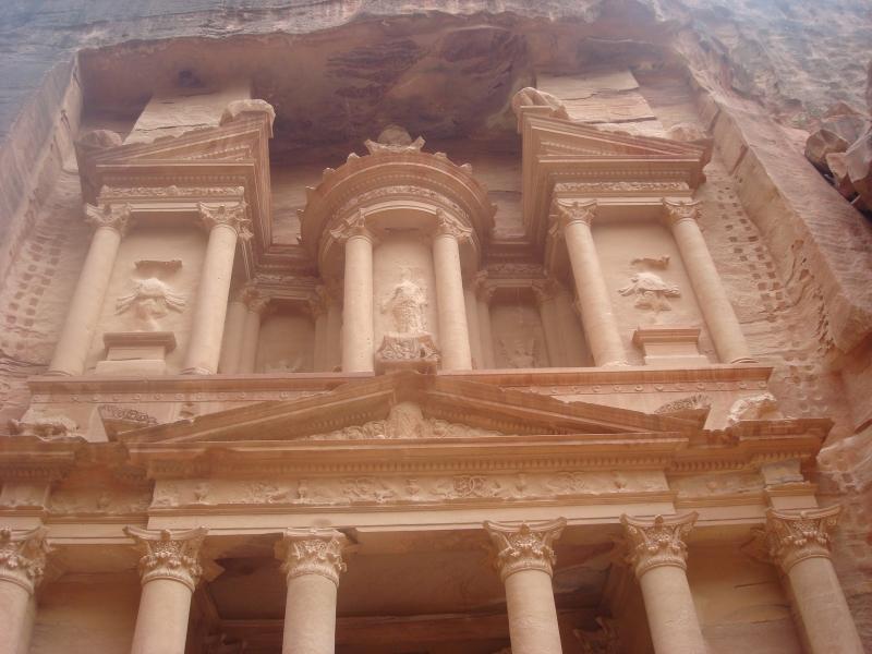The Treasury also known as Al Khazanah, Petra