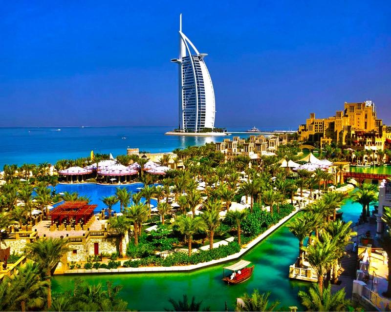 迪拜半天游览从迪拜机场