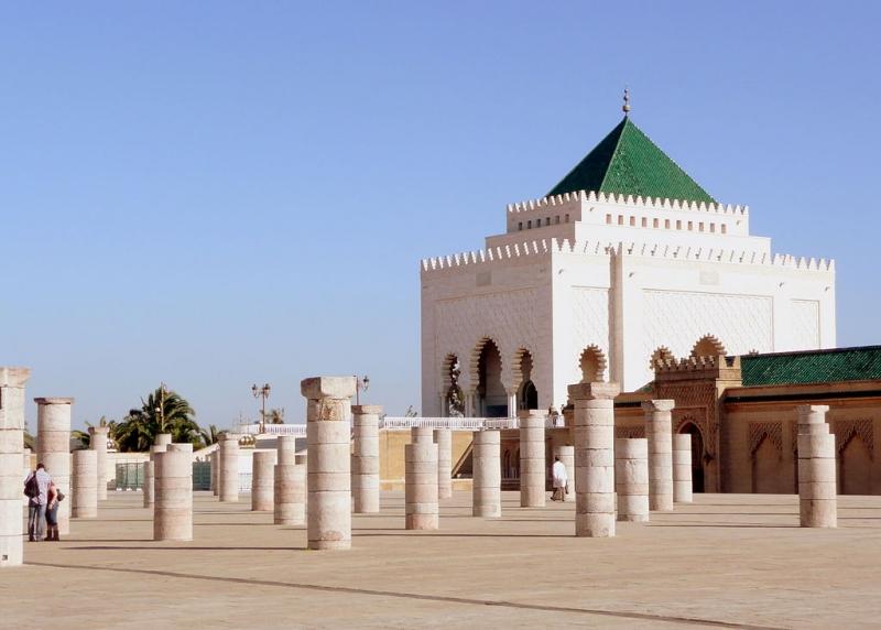 O Mausoléu de Mohamed V
