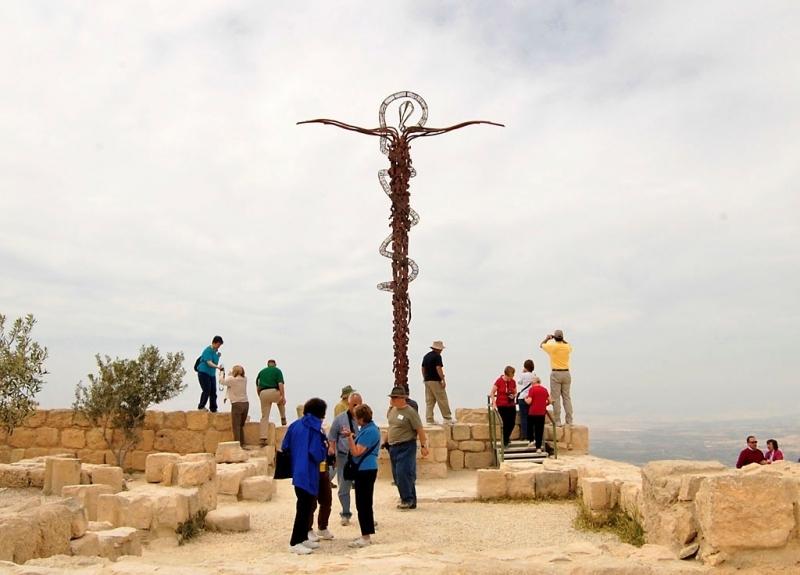 Mont Nébo, Jordanie