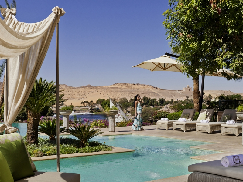 Old Cataract Hotel Pool, Aswan