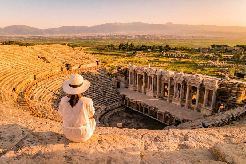 Hierápolis en Turquía